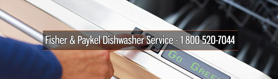Fisher & Paykel Dishwasher Service - 1 800 520-7044
